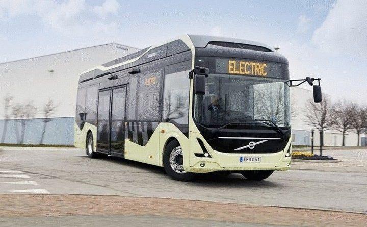 електричні автобуси в Бельгії