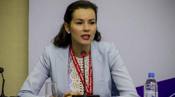 виконавчий директор Української асоціації Ірина Никорак