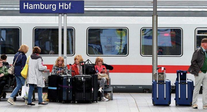 пассажиры железнодорожного транспорта в ЕС