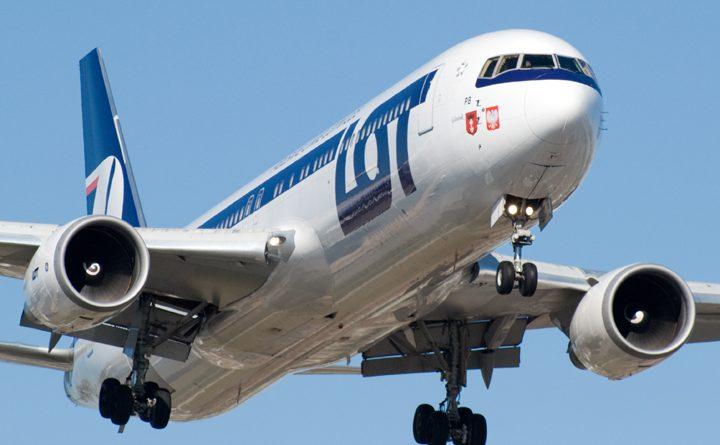 польская авиокомпания LOT