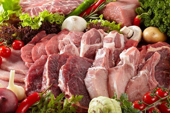 ціни на м'ясо і сало