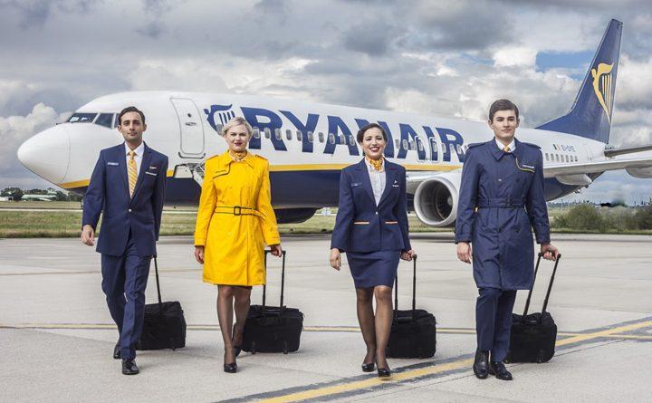 акция от ирландского лоукостера Ryanair
