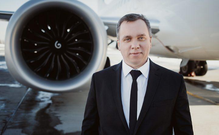 генеральний директор авіакомпанії SkyUp Євгеній Хайнацький