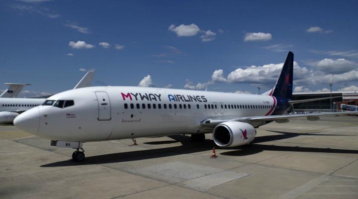 грузинська компанія Myway Airlines
