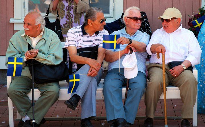 пенсионеры в Швеции