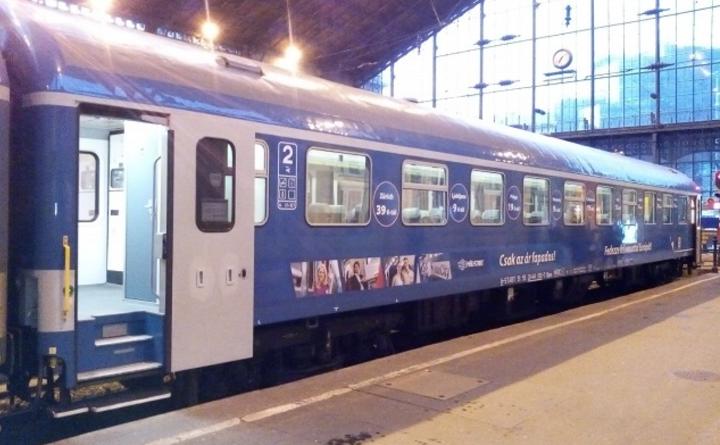 потяг Мукачево-Будапешт