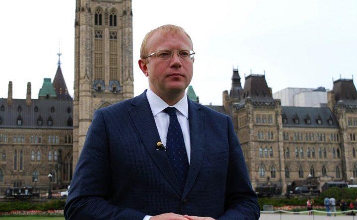 посол Украины в Канаде Андрей Шевченко