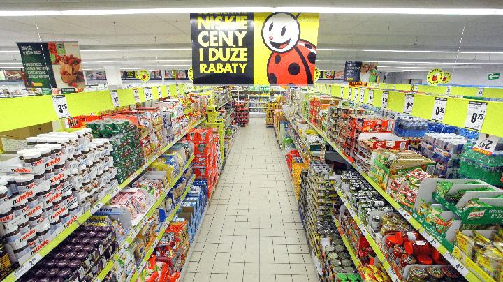 супермаркеты Biedronka