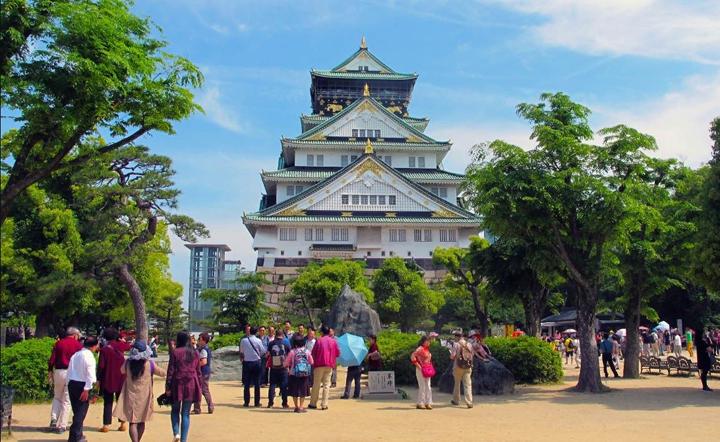 туристи в Японії