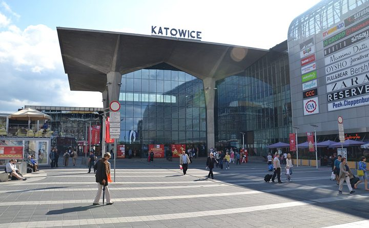 залізничний вокал у Катовіцах