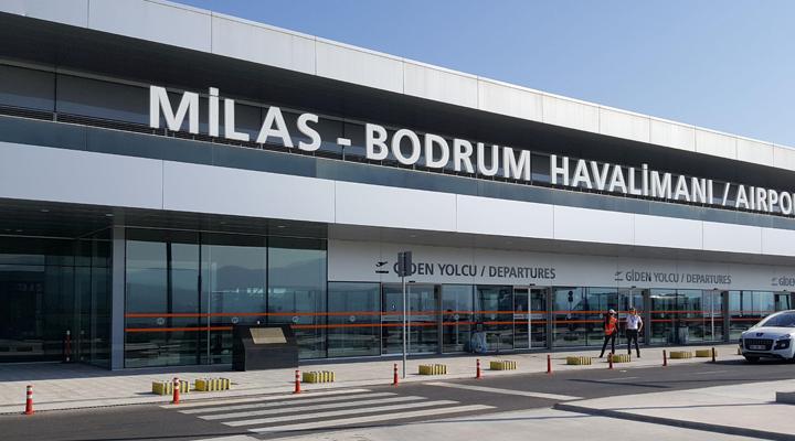 аеропорт в Туреччині Бодрум