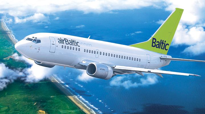 акція авіакомпанії AirBaltic