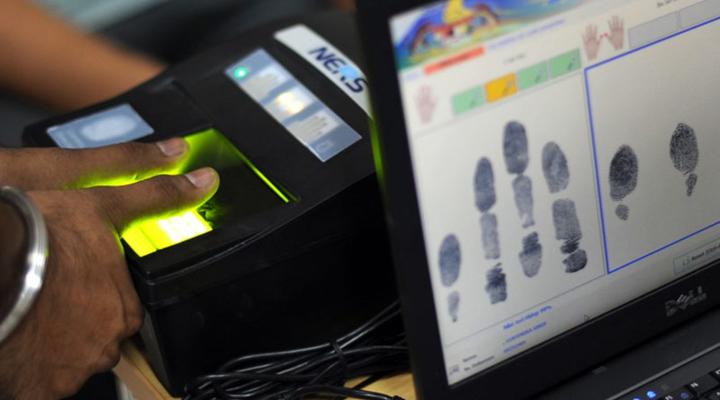 біометричний контроль на кордоні