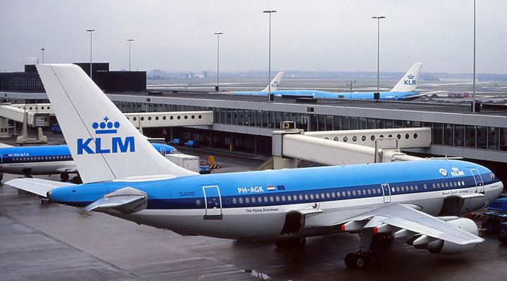 голландская авиакомпания KLM