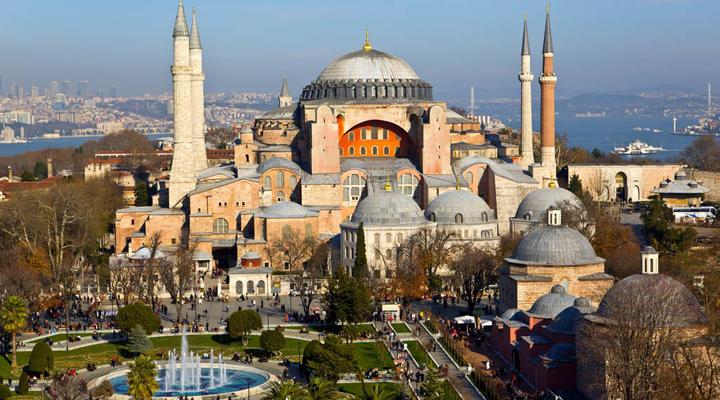 Храм Святої Софії в Стамбулі