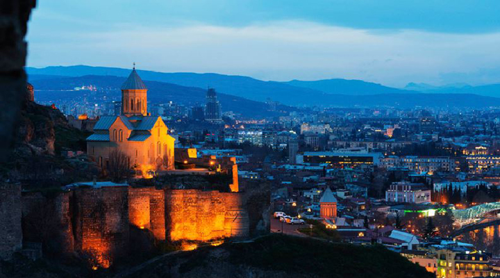 международный туризм в Грузии