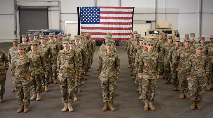 новобранцы в армии США