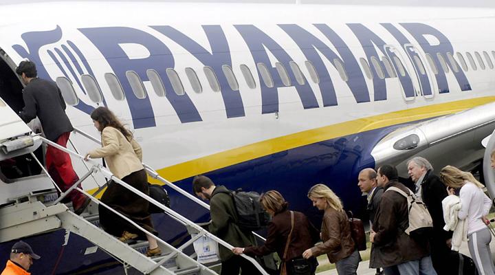 пасажири Ryanair