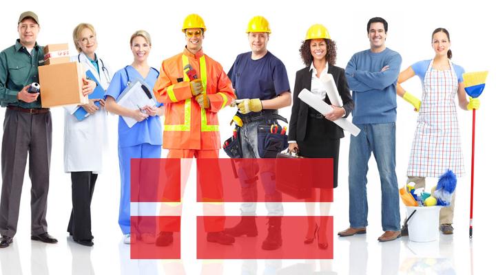 трудоустройство в Дании