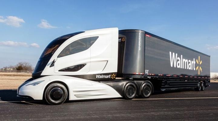 водії вантажівок в компанії Walmart