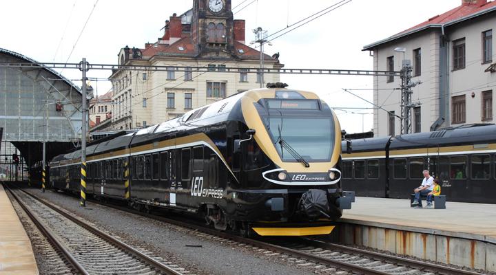 железнодорожная компания Leo Express