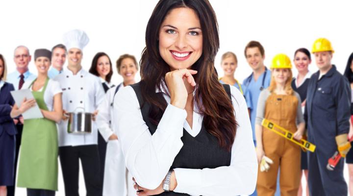 жінки різних професій