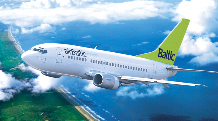 авиакомпания АirBaltic