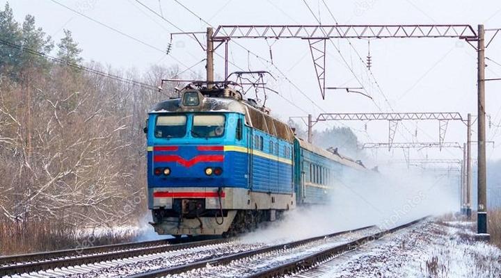поезд Львов-Ковель-Москва