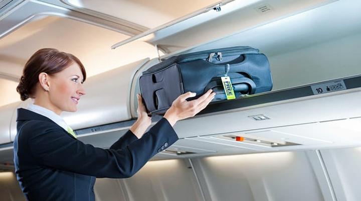 провіз валізи на борту літака