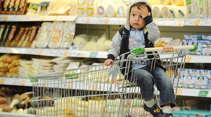 витрати українців на продукти харчування