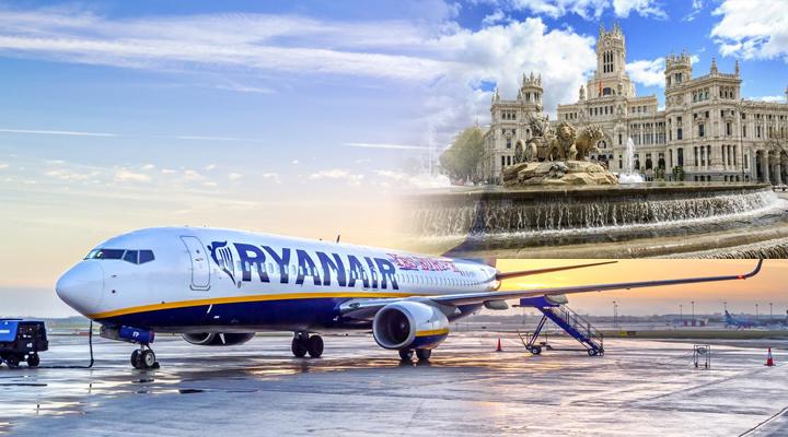 рейс ирландского лоукостера Ryanair на Мадрид