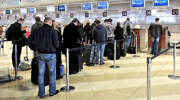 рост пассажирооборота украинских авиакомпаний