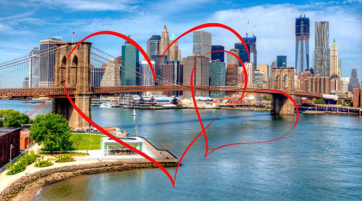 самые романтичные достопримечательности Нью-Йорка