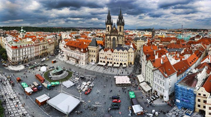трудові мігранти в Празі