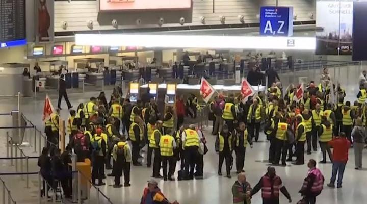 забастовка в Бельгии