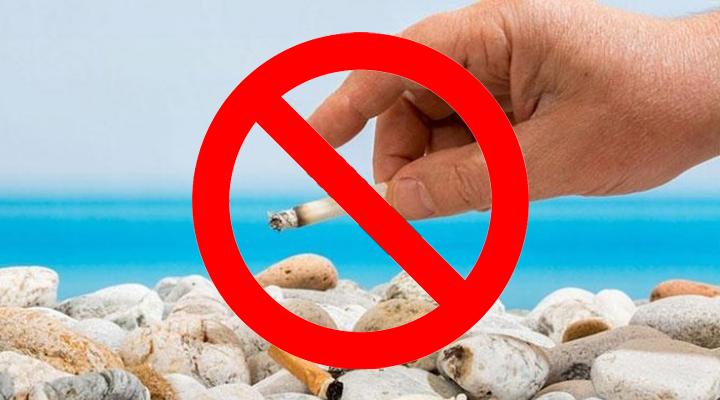 заборона куріння на пляжі курорту Бібіоне