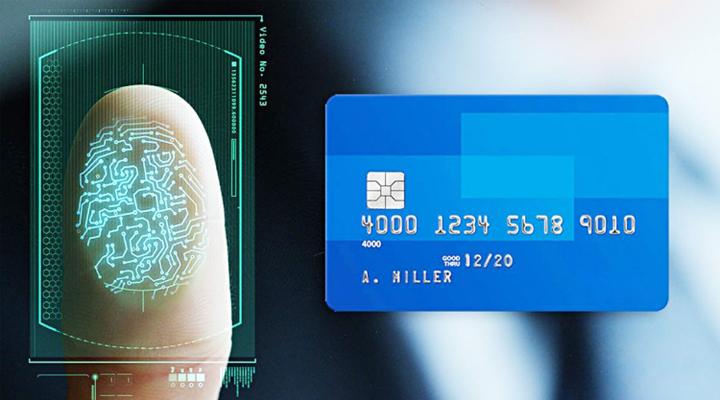 биометрическая банковская карта