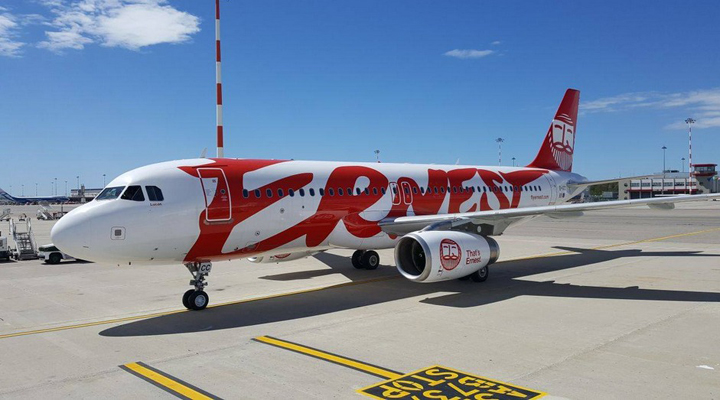 лоукостер Ernest Airlines