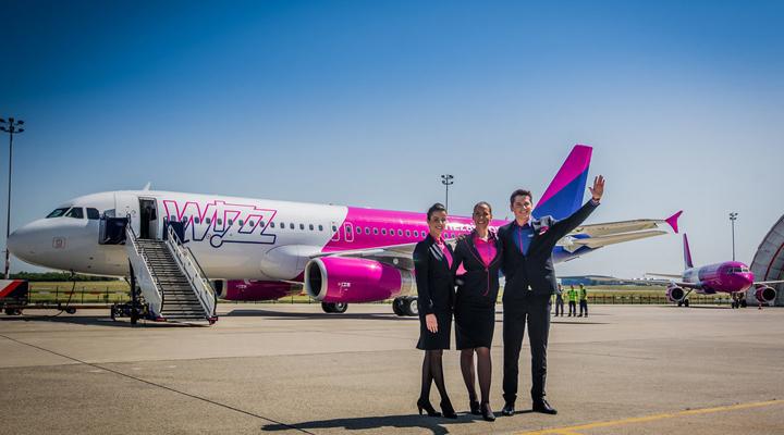 новые рейсы лоукостера Wizz Air