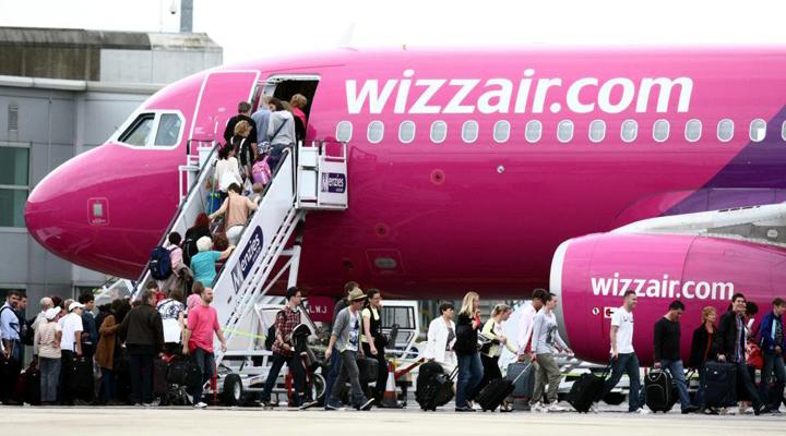 пасажиропотік лоукостера Wizz Air