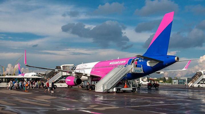 рейси лоукостера Wizz Air