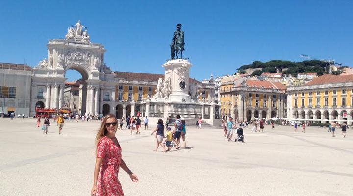 украинские туристы в Португалии
