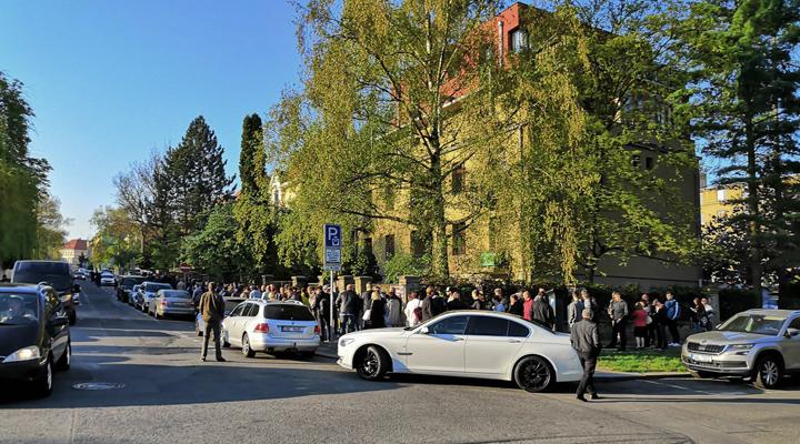голосування українців на виборах в Чехії