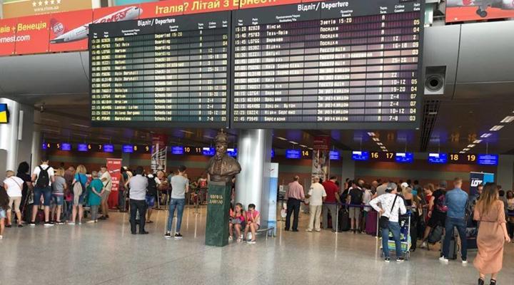 пасажиропотік у Міжнародному аеропорту «Львів»