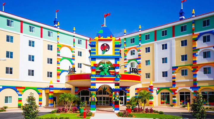отель в стиле «Лего» в Дубае