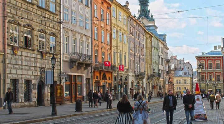 планирование подземного туристического маршрута во Львове