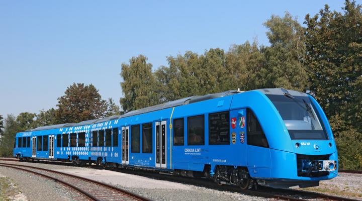 поезд на водороде