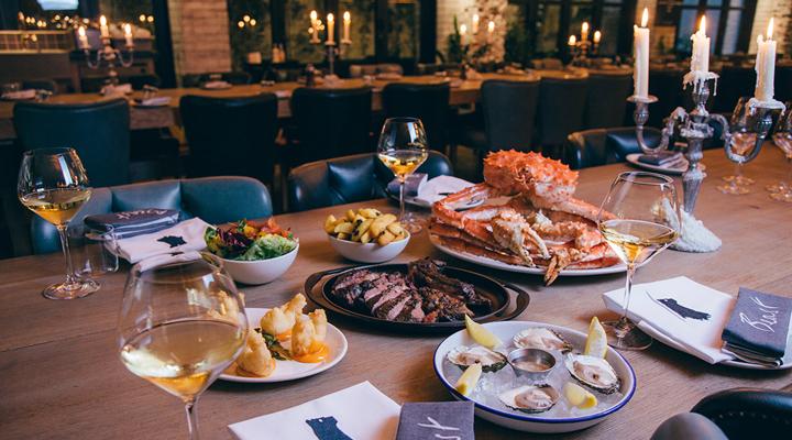 наилучшие рестораны Лондона