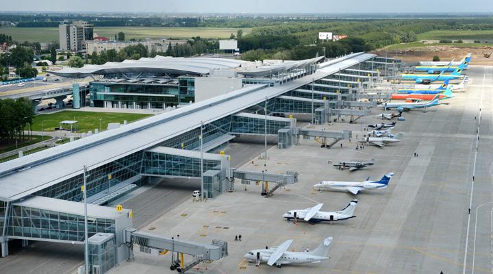 рейсы из международного аэропорта «Борисполь»