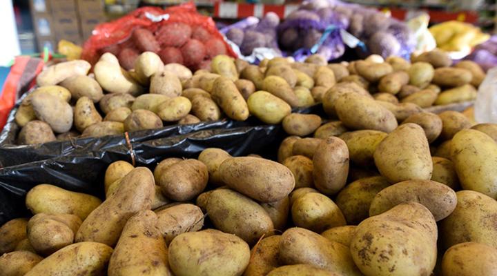 вартість картоплі на ринках і в магазинах